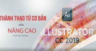 Adobe Illustrator cc 2019 - Thành thạo từ cơ bản đến nâng cao_1555492284